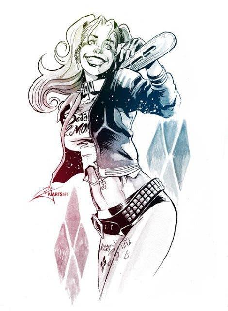 Harley Quinn (Escuadron Suicida) diseño 8