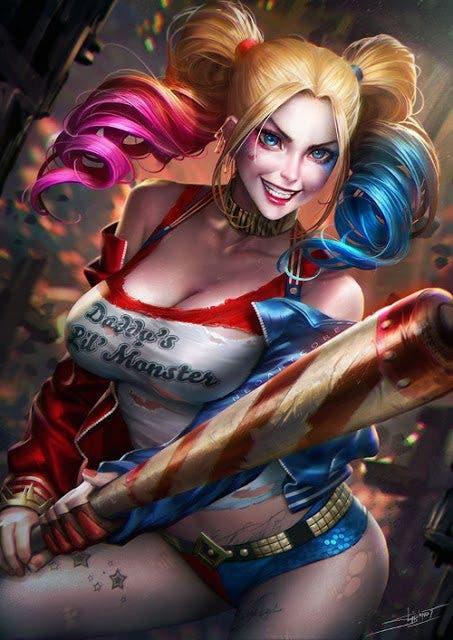 Harley Quinn (Escuadron Suicida) diseño 9