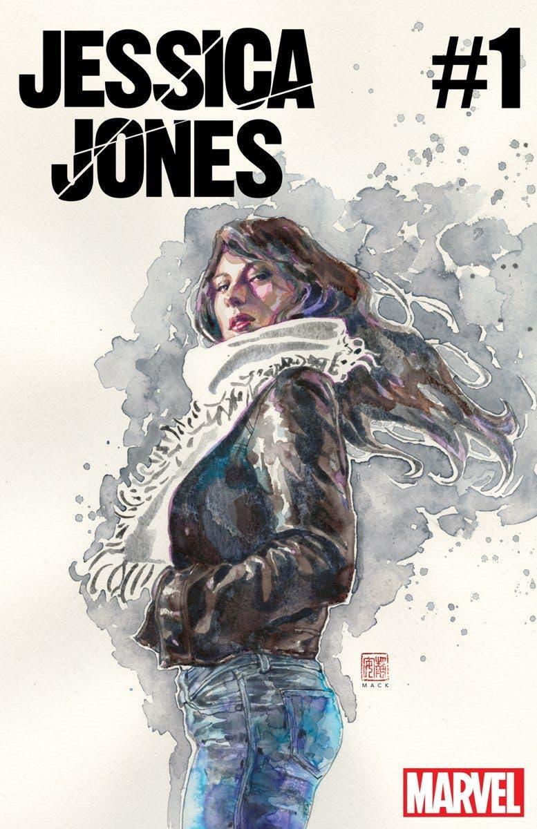 JESSICA JONES de Brian Michael Bendis y Michael Gaydos