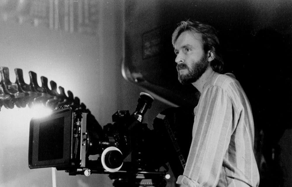 James Cameron en el rodaje de 'Aliens: el regreso'