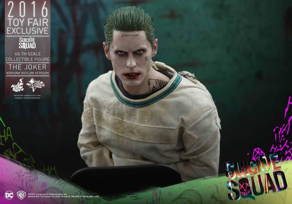 Hot Toys Jared Leto Joker Suicidide Squad