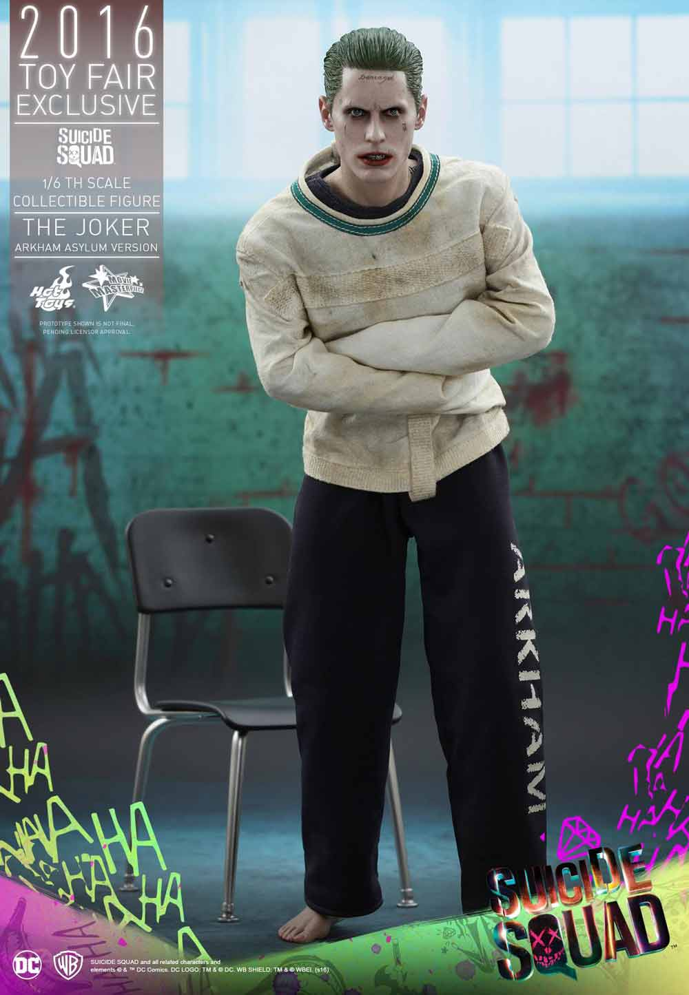 Hot Toys Jared Leto Joker Suicidide Squad
