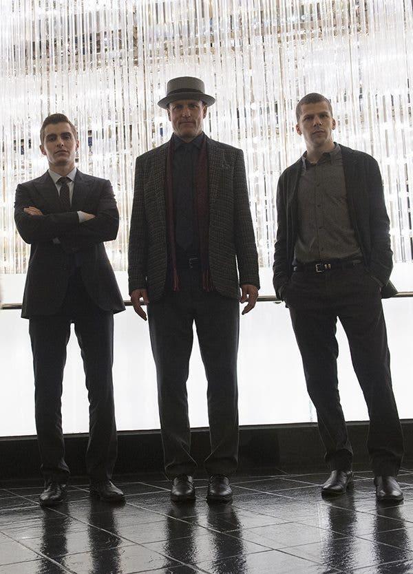 Dave Franco, Woody Harrelson y Jesse Eisemberg repiten como los cuatro jinetes