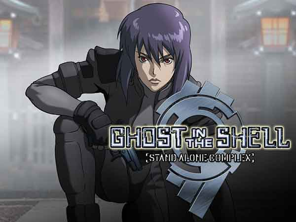 Scarlett Johansson en Ghost in the Shell