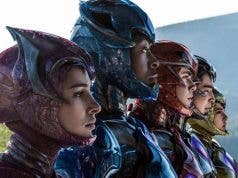 Power Rangers sin casco