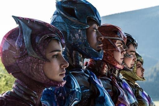 Power Rangers sin casco