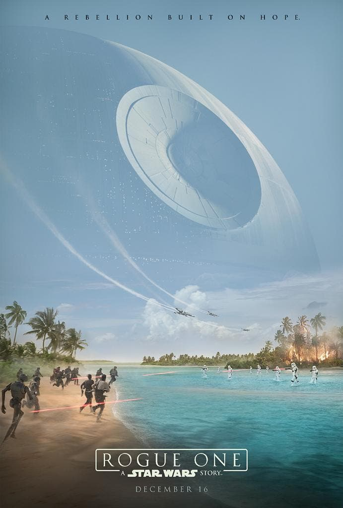Primer poster oficial de Rogue one una historia de Star Wars