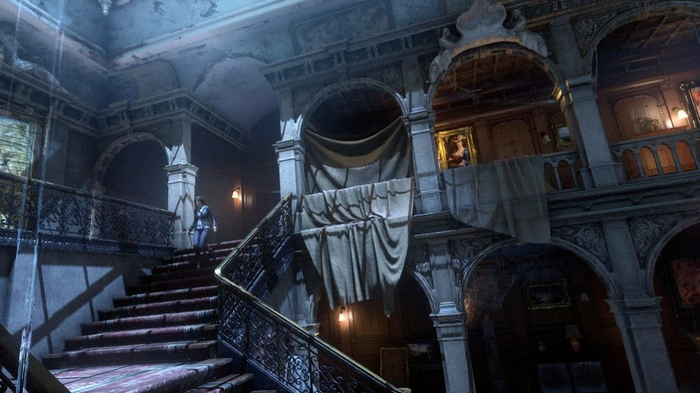Rise of the Tomb Raider 20 Year Celebration mansion Croft