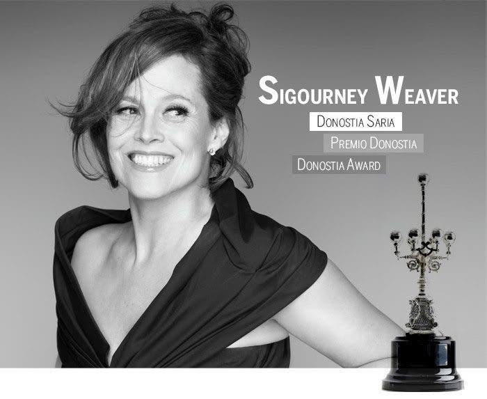 Sigourney Weaver Un monstruo viene a verme
