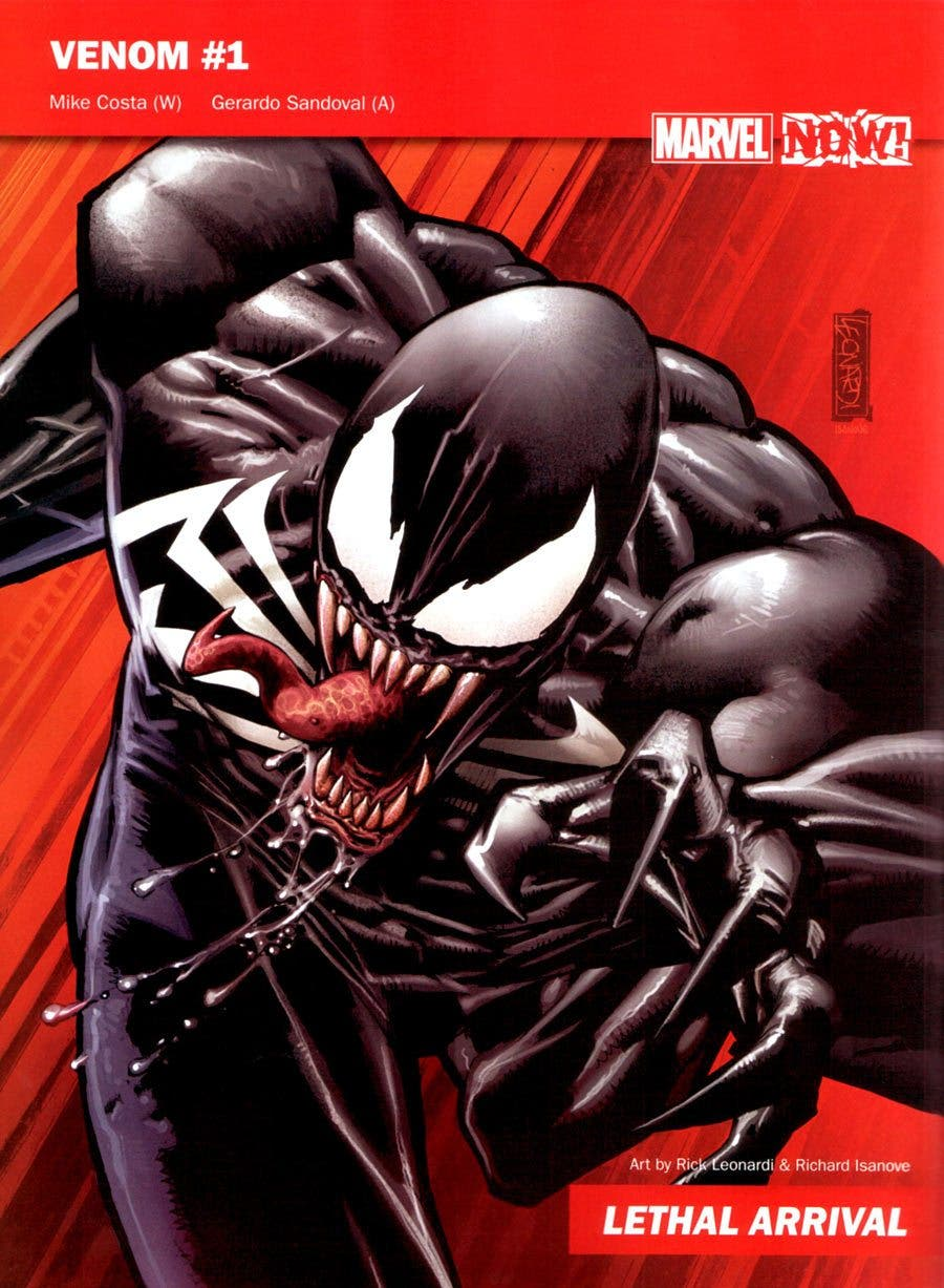 Venom Marvel NOW!