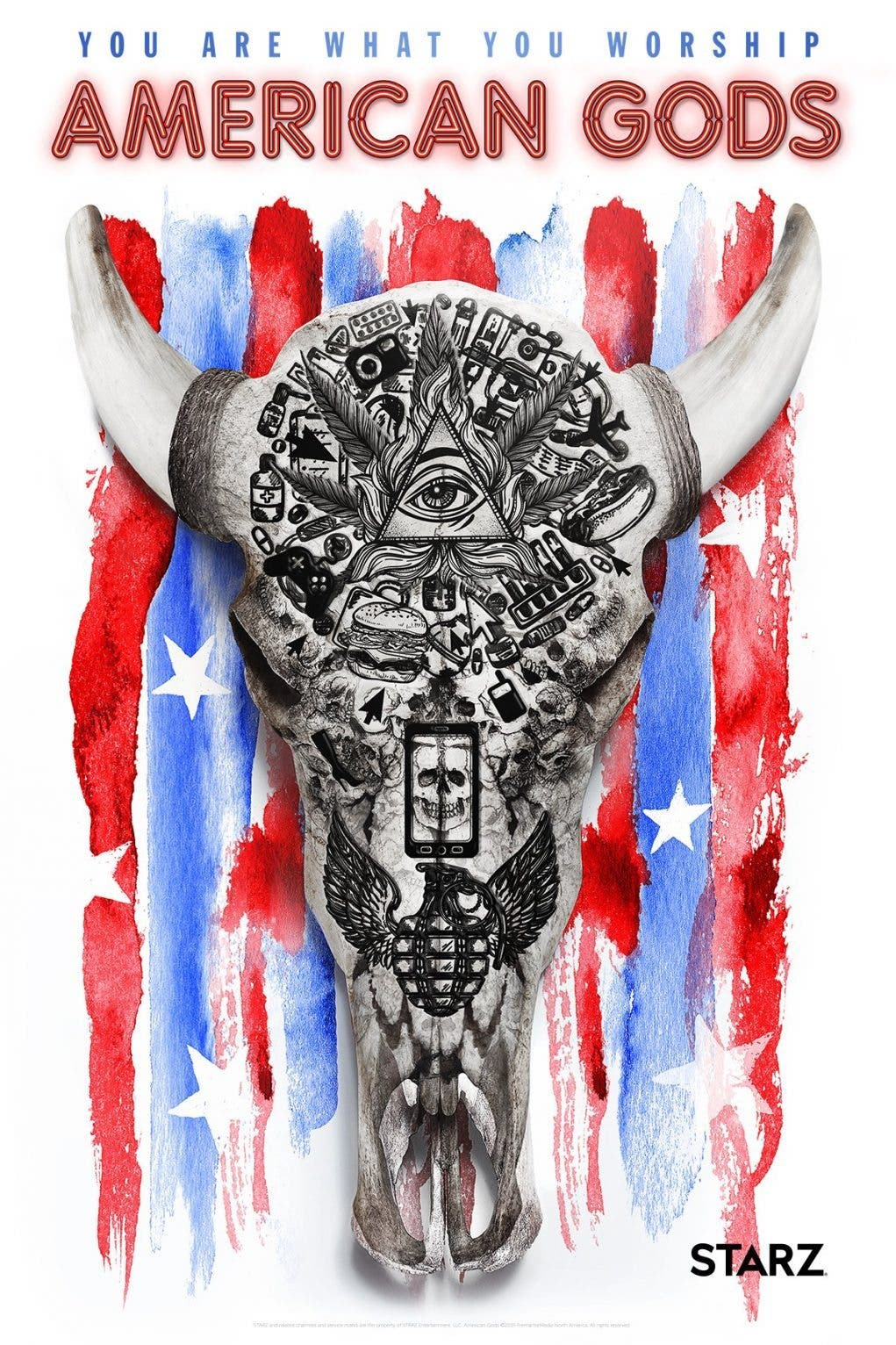 póster Comic Con American Gods