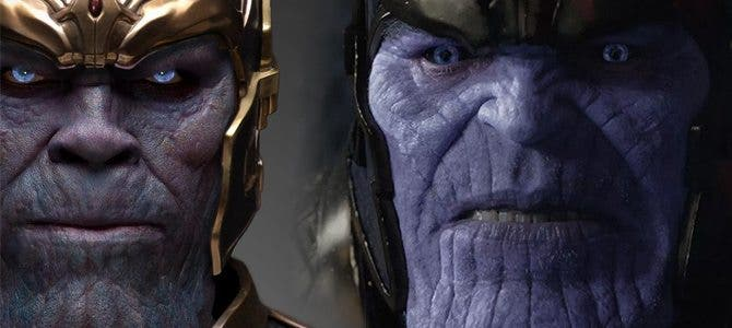 Thanos en 'Guardianes de la Galaxia Vol. 2'