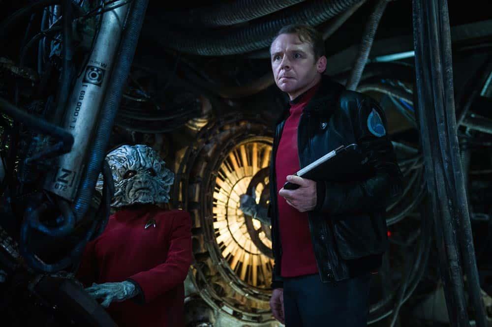 Simon Pegg Star Trek Más Allá
