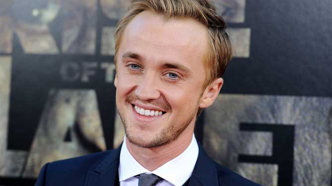 Tom Felton en Flash