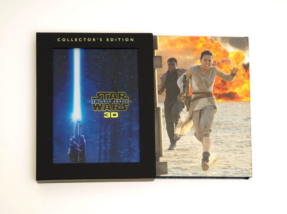 Star Wars el despertar de la fuerza 3D