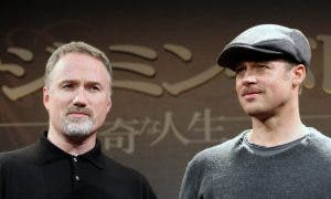 Mandatory Credit: Photo by Masatoshi Okauchi/REX/Shutterstock (842759g)Dirctor David Fincher and Brad Pitt'The Curious Case of Benjamin Button' film press conference, Tokyo, Japan - 28 Jan 2009