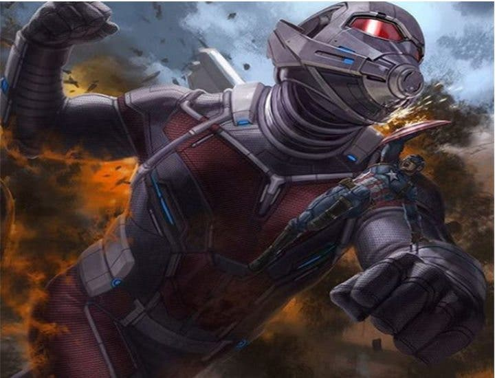 Capitán América Civil War ant man