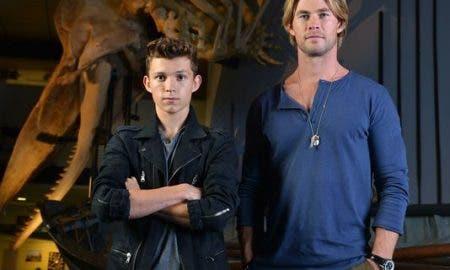 Chris Hemsworth y Tom Holland