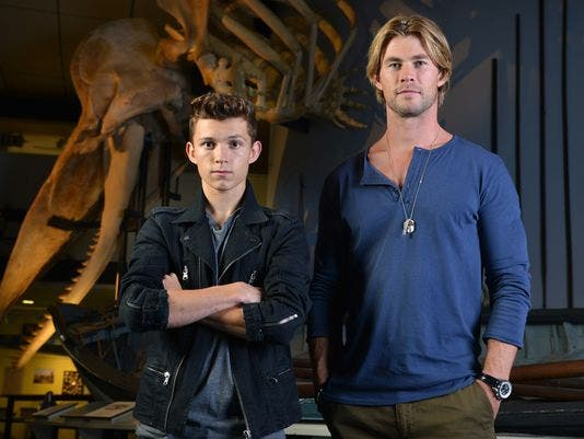 Chris Hemsworth y Tom Holland