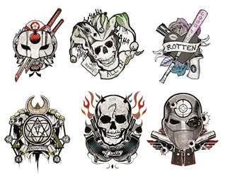 Tattoos Suicide Squad Escuadron Suicida