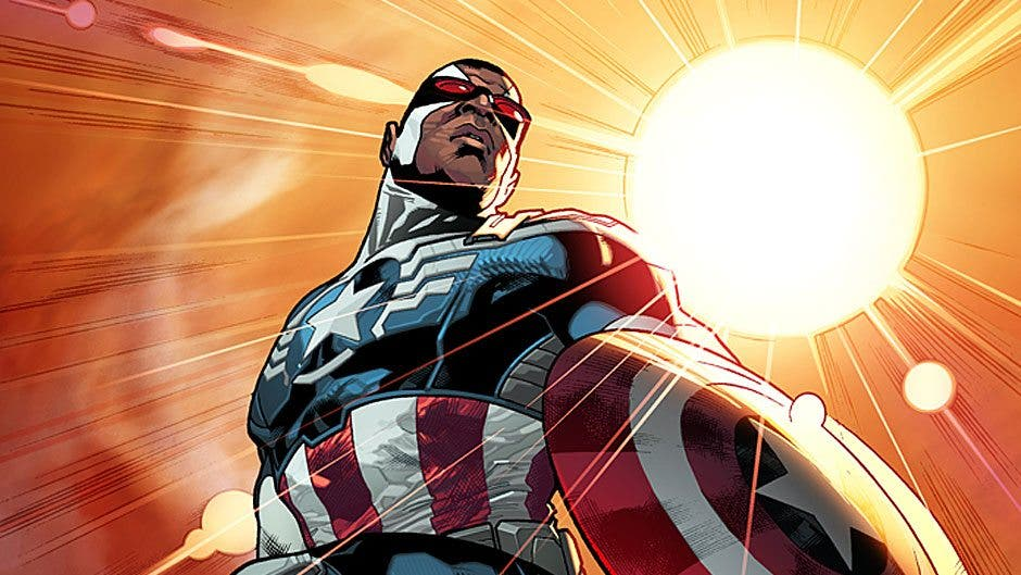 The Falcon and the winter soldier Anthony Mackie Marvel Los Vengadores Halcón Capitán América
