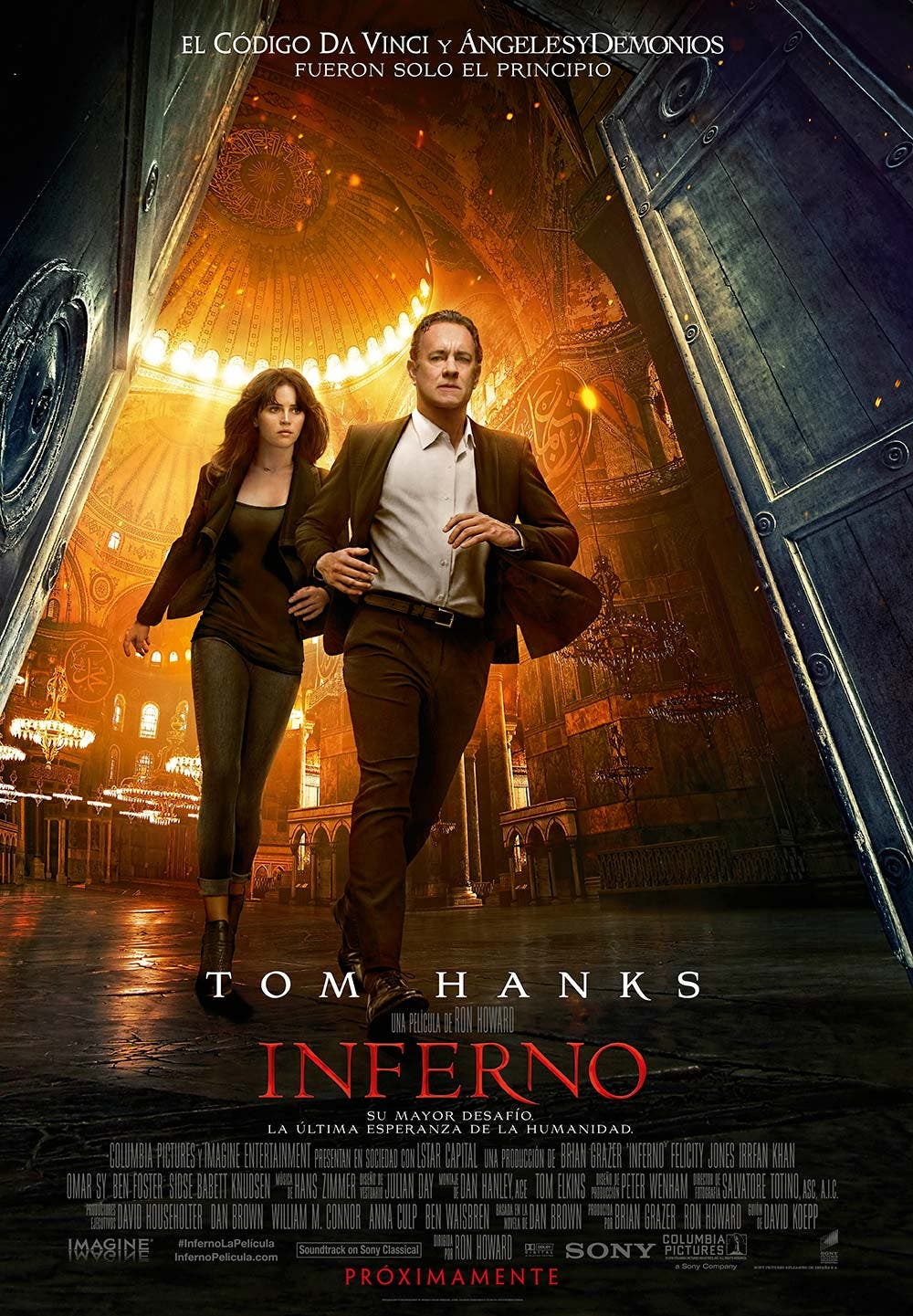 Cartel final de Inferno