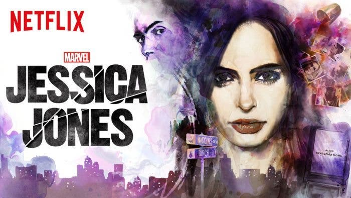 Jessica Jones personaje de Marvel