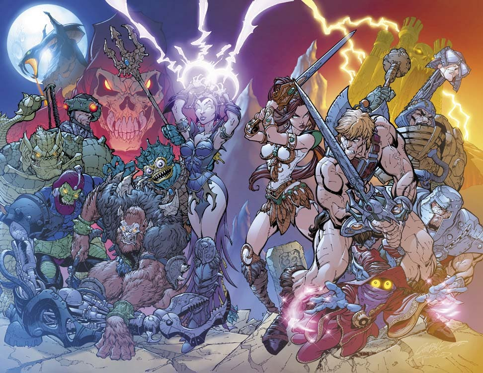 Masters of universe J Scott Campbell