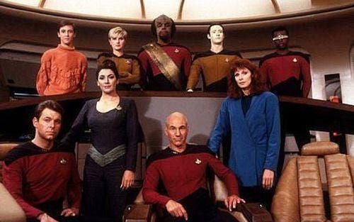 Star Trek tripulacion