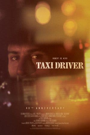 Taxi driver poster 40 años
