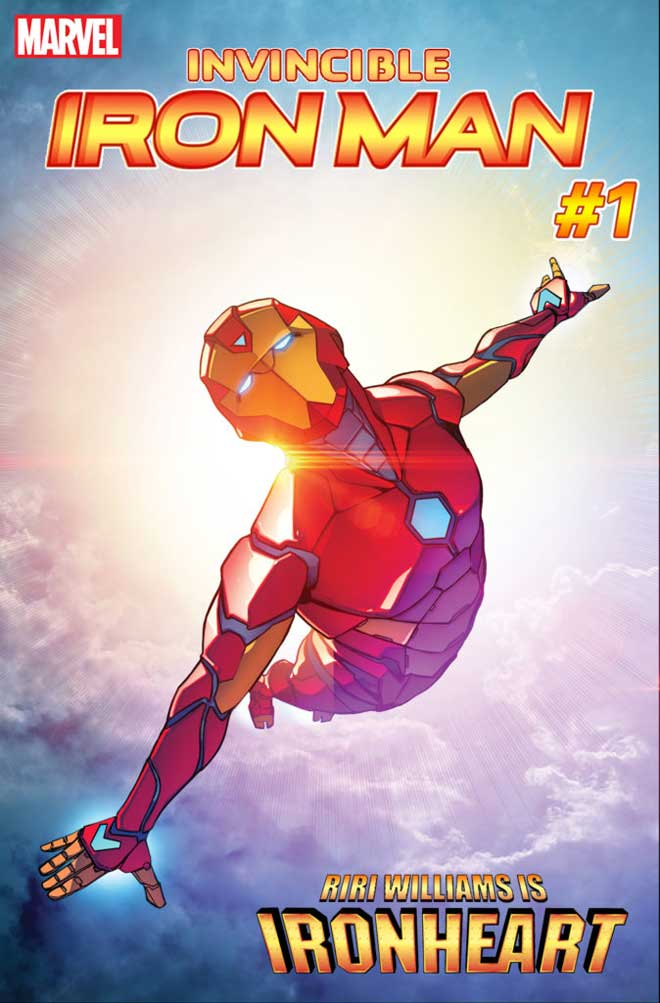 Iron Man es Ironheart