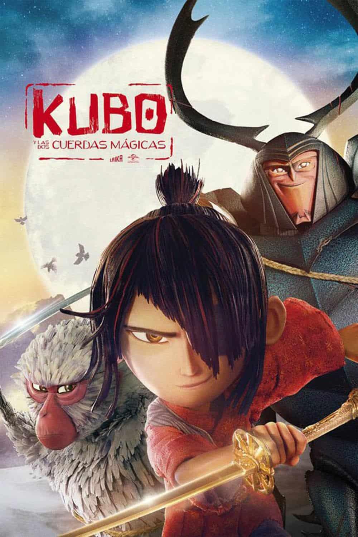 """Poster de """"Kubo y las dos cuerdas mágicas"""""""