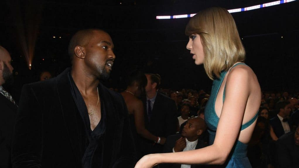 taylor Swift vs Kanye West