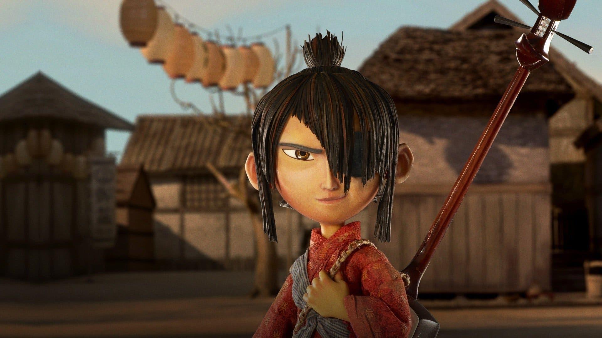 """Image from the movie """"Kubo y las dos cuerdas mágicas"""""""