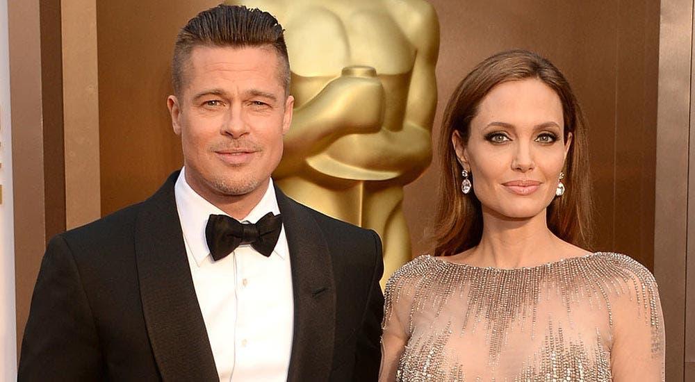 Brad Pritt se divorcia de Angelina Jolie