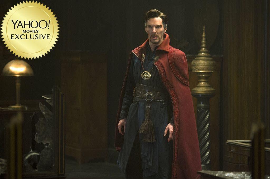 Benedict Cumberbatch como el mago supremo en Doctor Strange