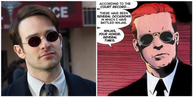 Charlie Cox Daredevil pelo rojo
