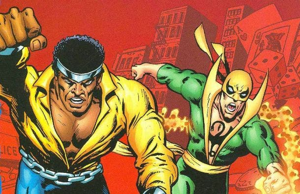 Iron Fist y Luke Cage