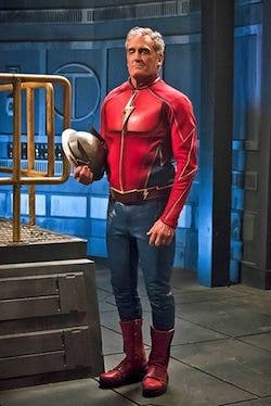 """The Flash -- """"The Race of His Life"""" -- Image: FLA223a_0238b.jpg -- Pictured: John Wesley Shipp as Henry Allen -- Photo: Katie Yu/The CW -- © 2016 The CW Network, LLC. All rights reserved."""