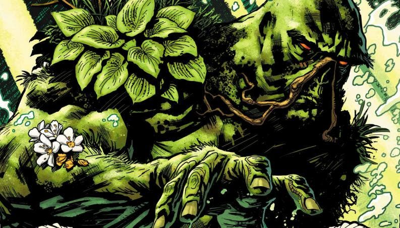 Alec Holland en La Cosa del Pantano (Swamp Thing)