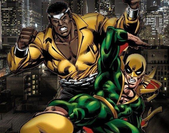 Luke Cage y Iron Fist