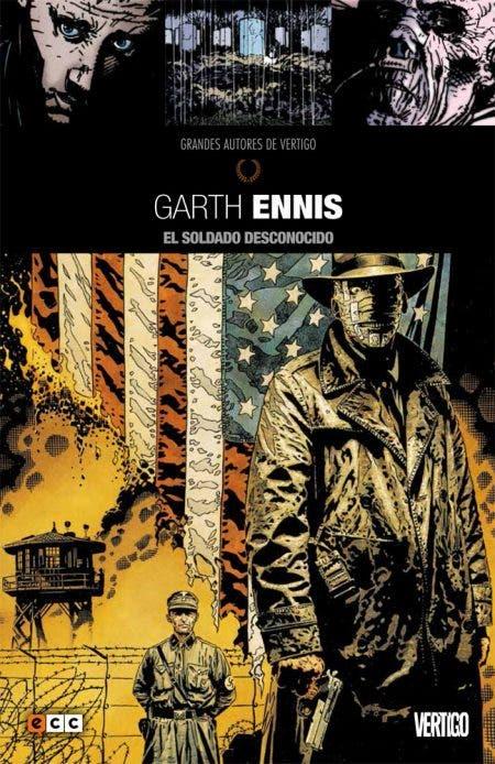 Grandes autores de Vertigo El soldado desconocido Garth Ennis