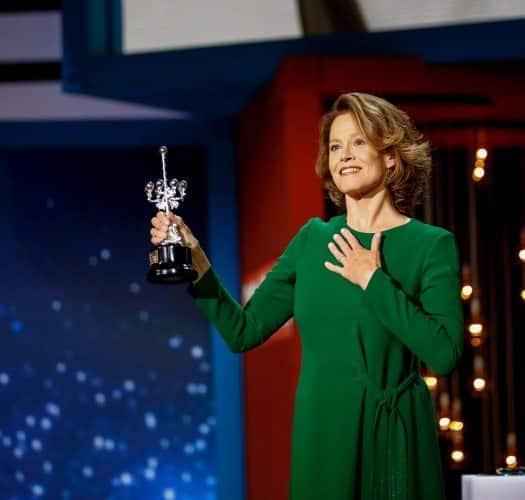 Sigourney Weaver, con su Premio Donostia