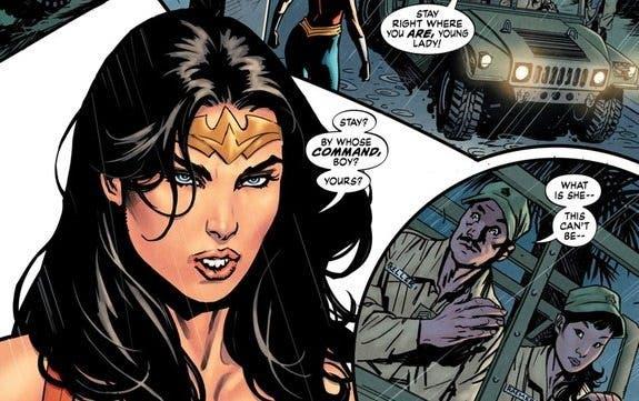 Wonder Woman Tierra Uno