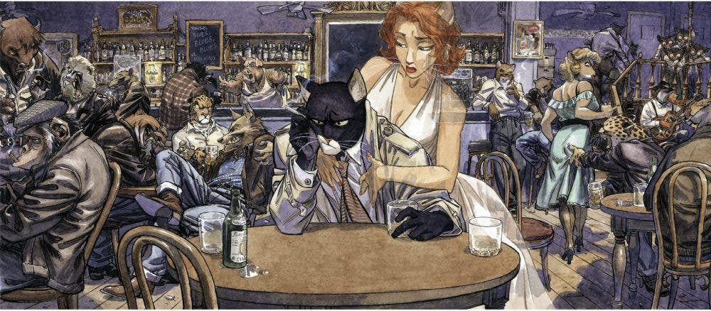 Blacksad (Juan Díaz Canales y Juanjo Guarnido) | Black Friday