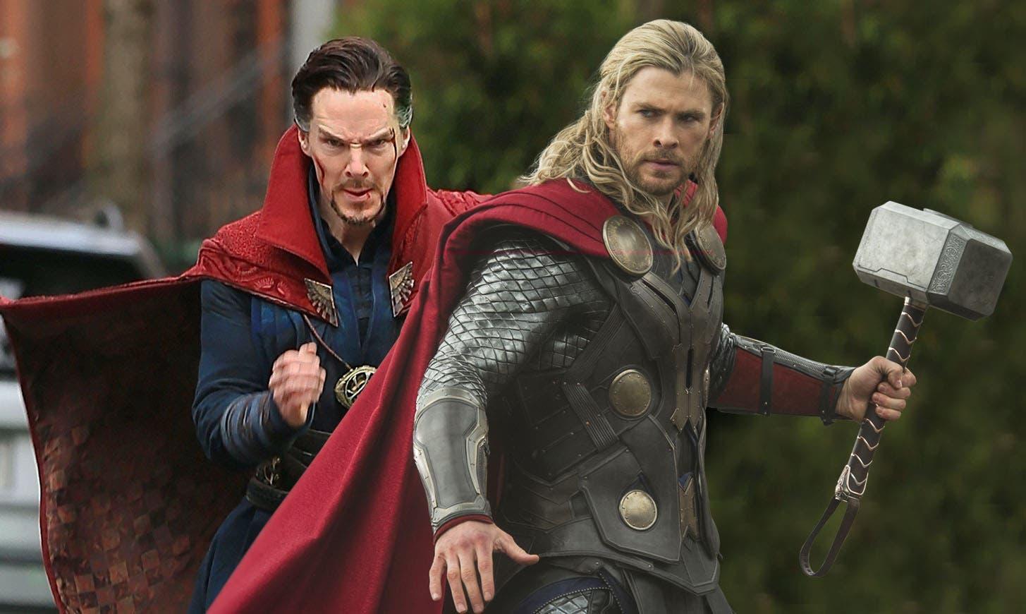 Doctor Strange y Thor
