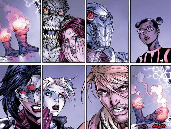 SPOILER: Escuadrón Suicida cómics