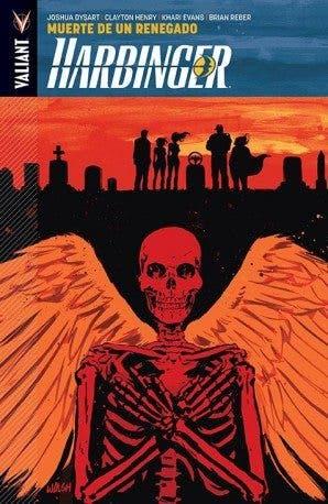Harbinger vol 5 muerte de un renegado