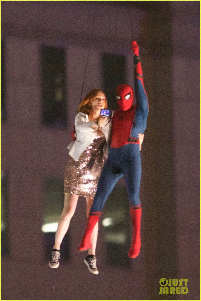 spider-man: Homecoming. Escena Helicoptero