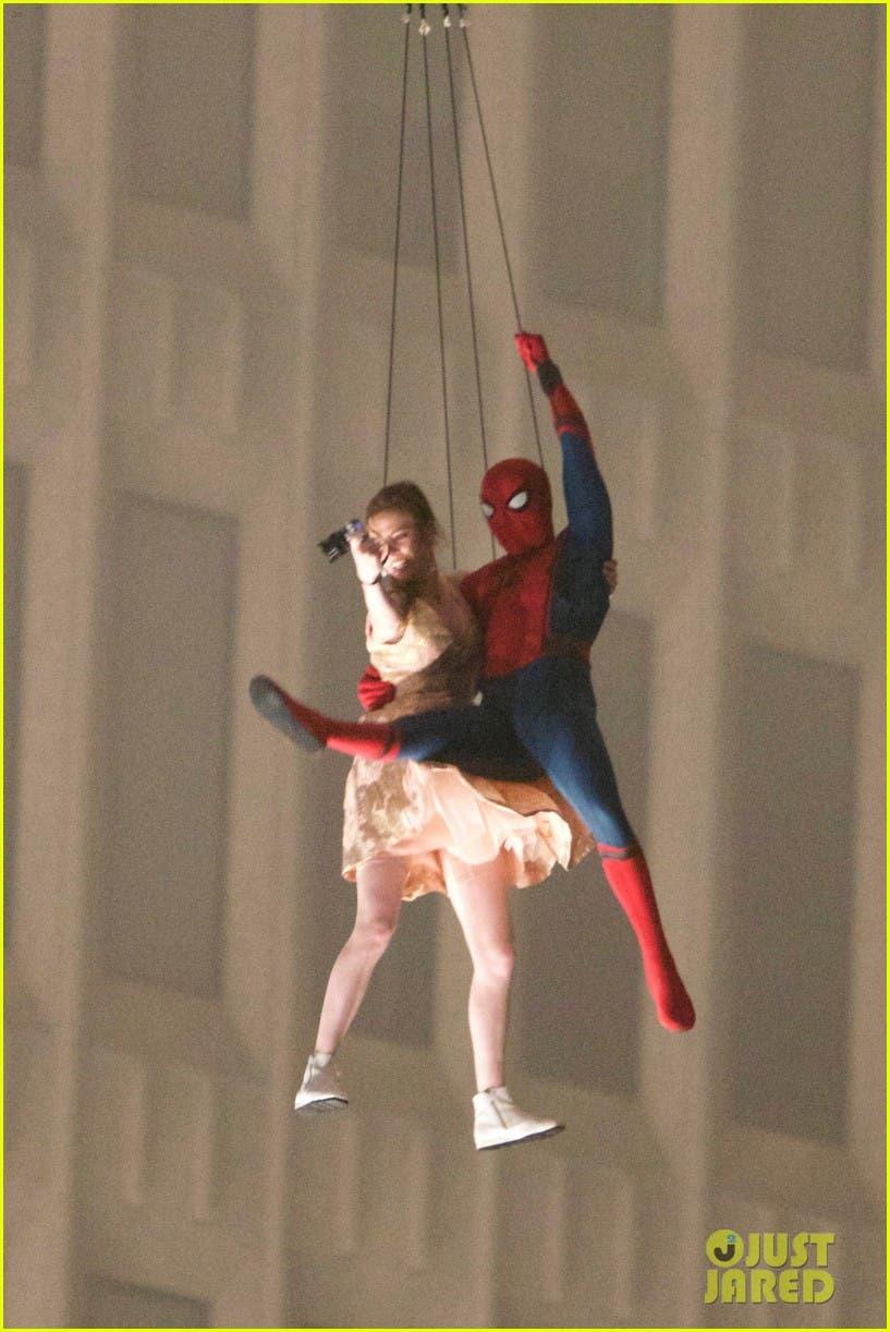 spider-man: Homecoming. Escena Helicoptero